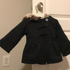 Limited Too, 24 month black pea coat